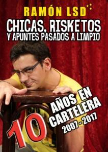 Espectáculo CHICAS,RISKETOS Y APUNTES PASADOS A LIMPIO
