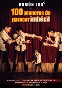 Espectáculo 100 MANERAS DE PARECER IMBÉCIL