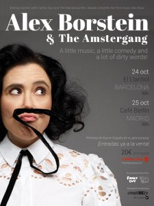 Espectáculo Alex Borstein & The Amstergang
