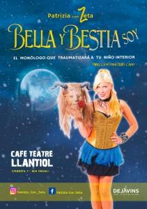 Espectáculo BELLA Y BESTIA SOY